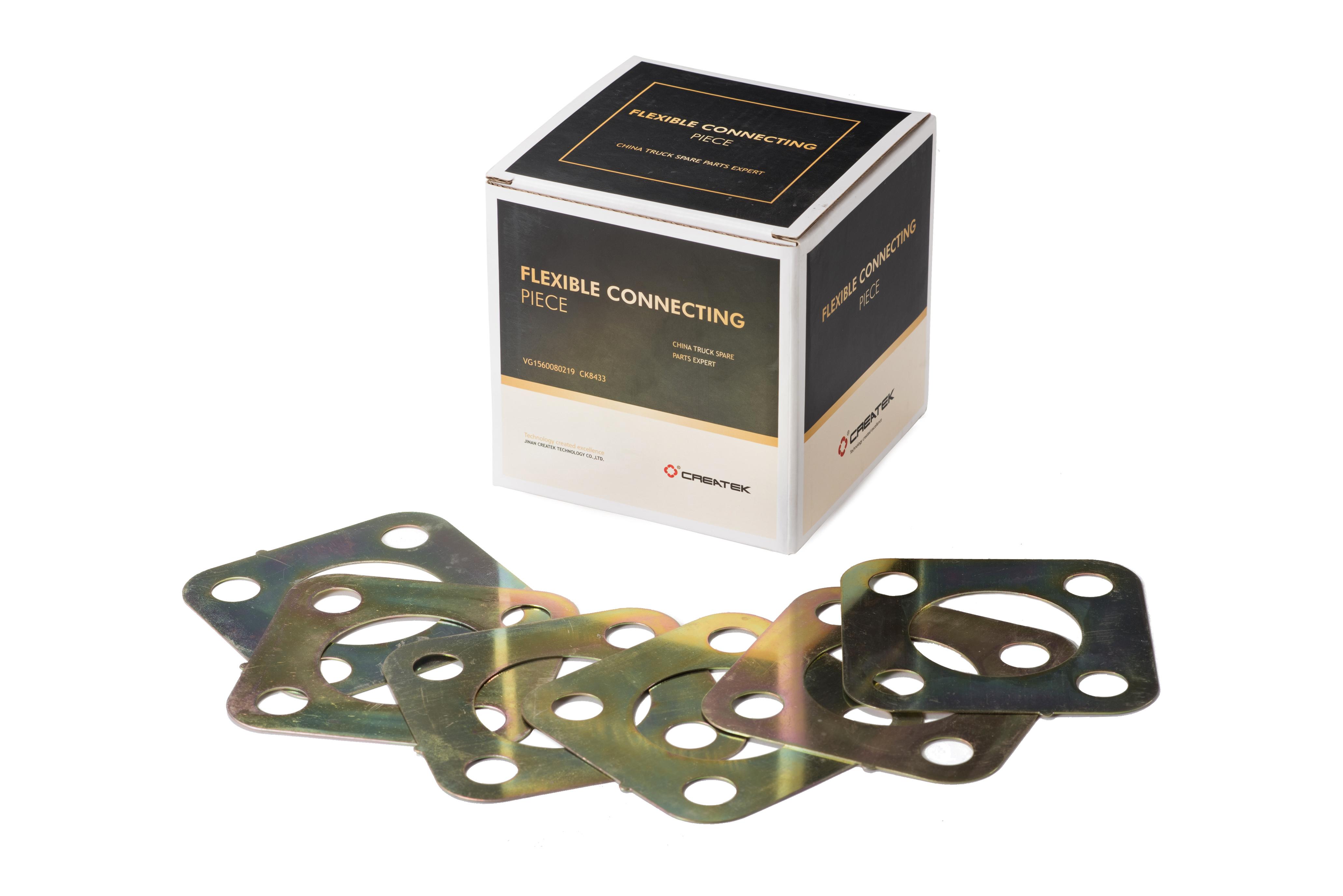Пластины муфты ТНВД Евро2 квадратные качество Createk VG1560080219 HOWO