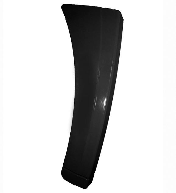 Крыло F2000 правое (накладка подножки) черная 81.61510.5162 SHAANXI